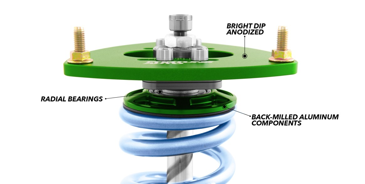 fortune auto coilover standard features