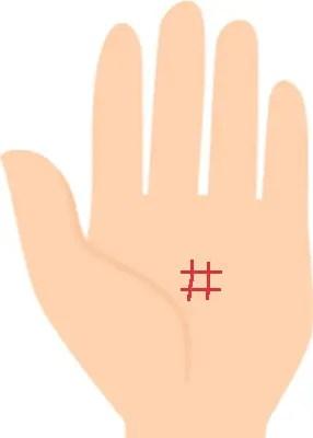 四角紋の手相占い⑧次のステージへと進むサイン!火星平原にあるスクエア