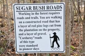 Sugarbush Roads