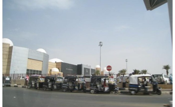 Transport system in Khartoum Sudan
