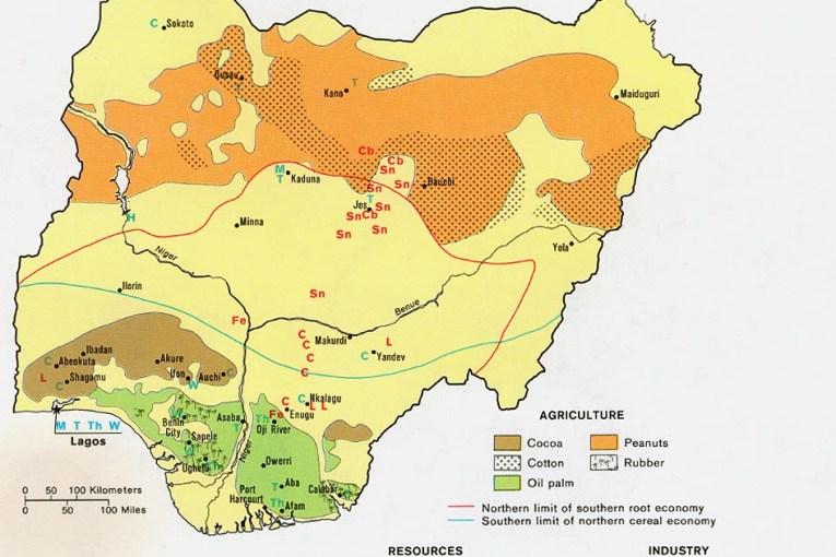 Natural Resources of Nigeria - Fortune of Africa Nigeria