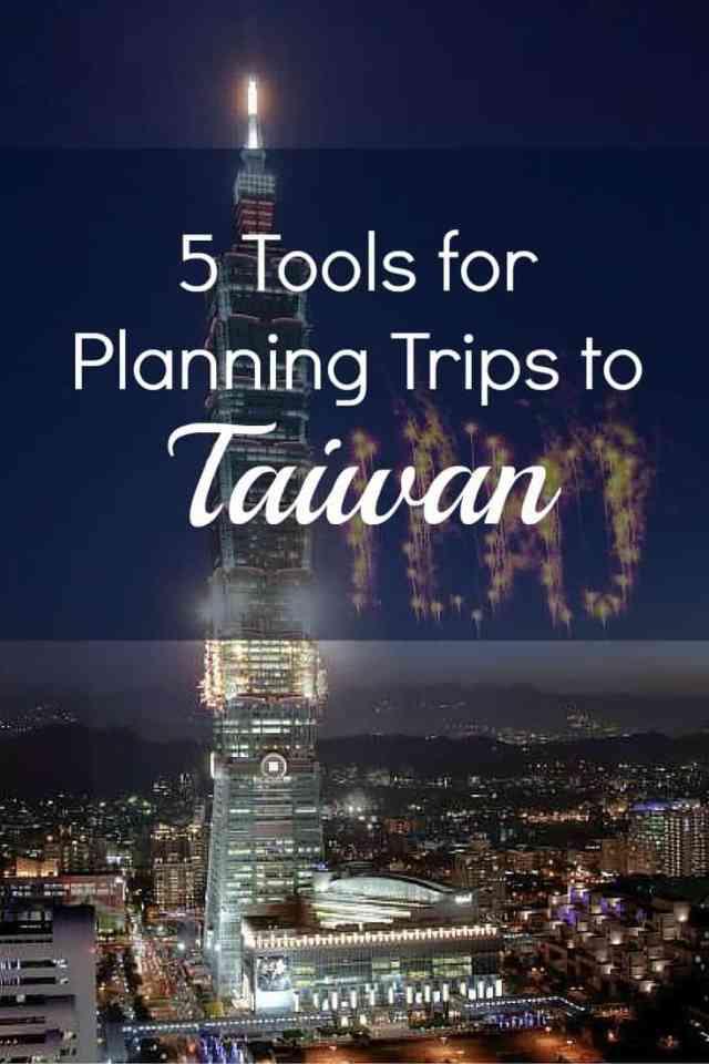 Tools to Taiwan