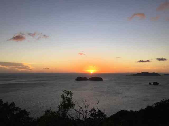 Sunset at Pangulasian, El Nido, Palawan, Phlippines