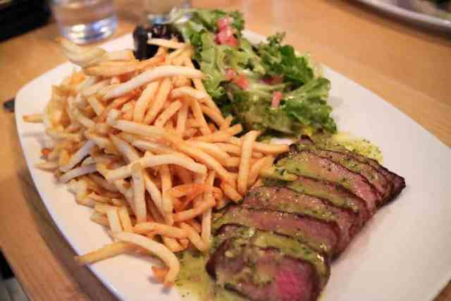 Steak frites from Cassis Bistro, Calgary, Canada