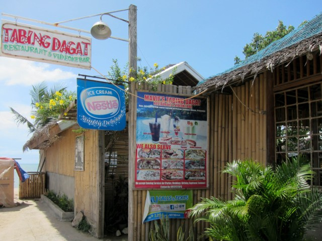 Tabing dagat restaurant at Roxas, Palawan, Philippines