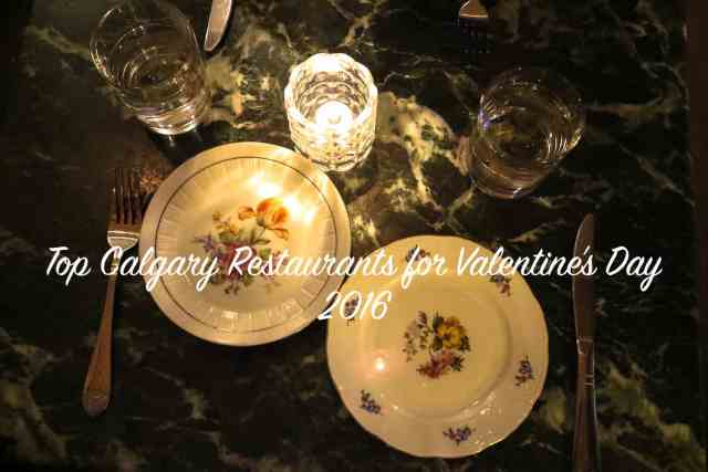 Valentine's Top Calgary Restaurants