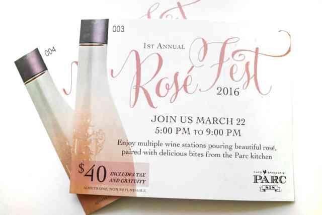 Rose Festival, Parc Brasserie, Calgary
