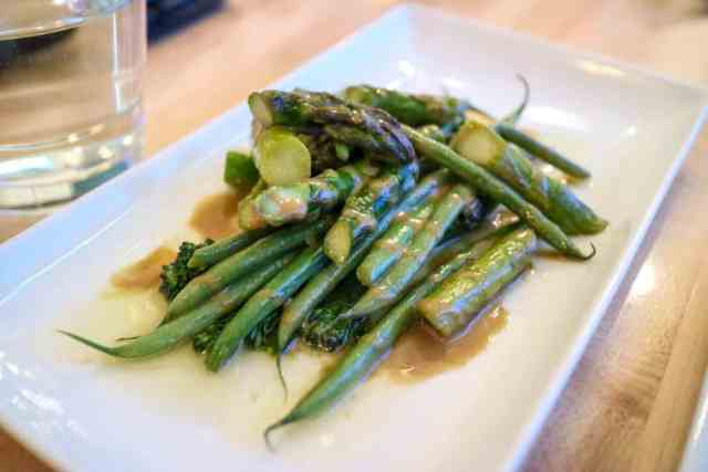 Green bean from Black Pig Bistro, Calgary