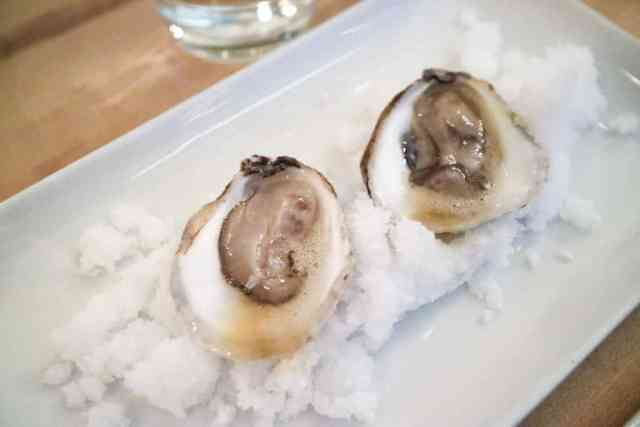 PEI oyster from Black Pig Bistro, Calgary