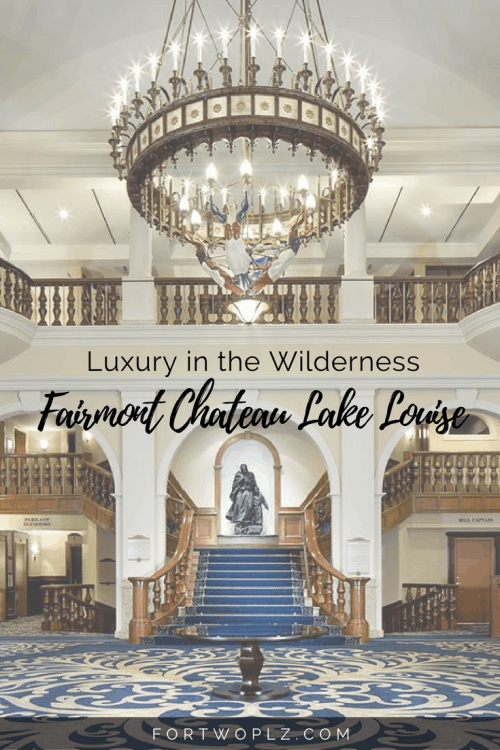 Planning to stay overnight in Banff? Check out Fairmont Chateau Lake Louise to give you the luxury in the midst of wilderness.