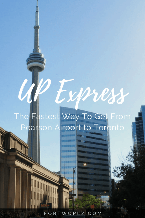 Looking for the easiest and fastest way to get to downtown Toronto from Pearson Airport? Try UP Express! It will transport you in 25 mins!