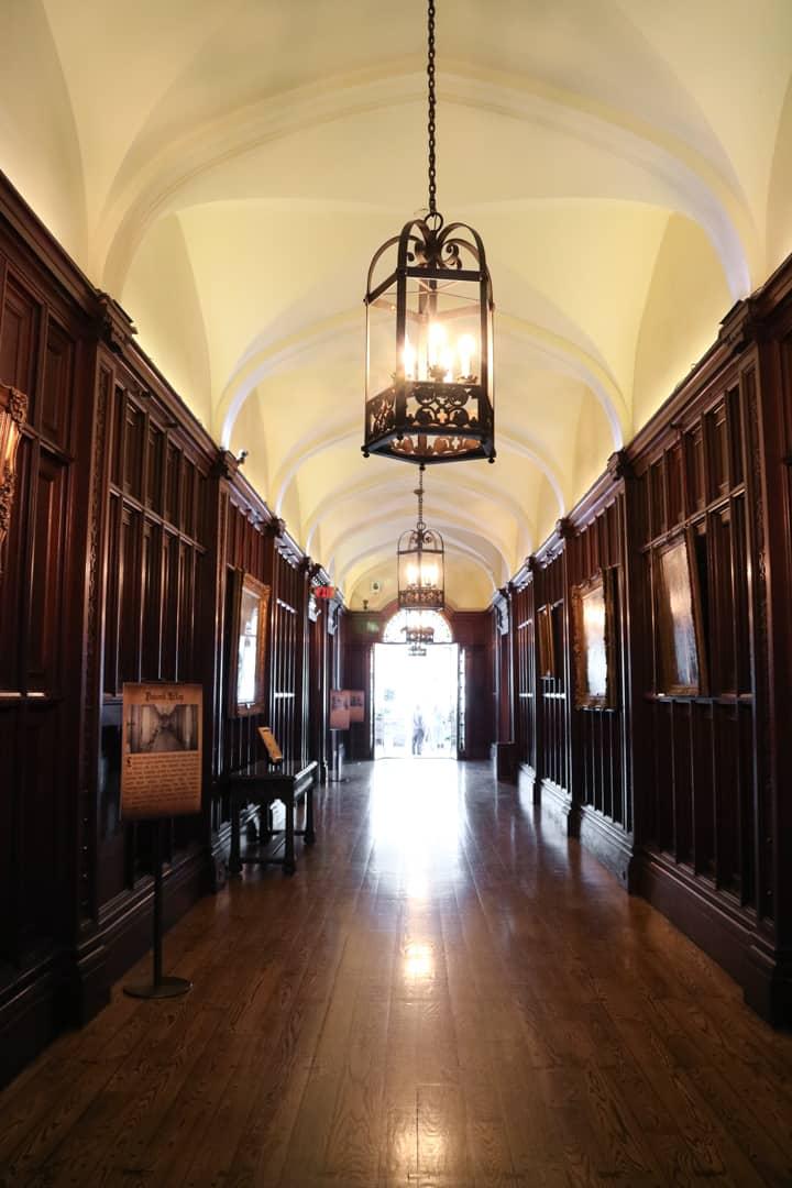 Corridor at Casa Loma Toronto