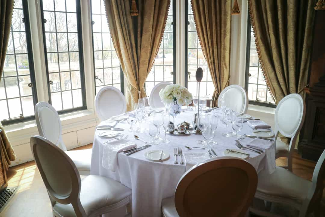 Dining Room at Casa Loma Toronto