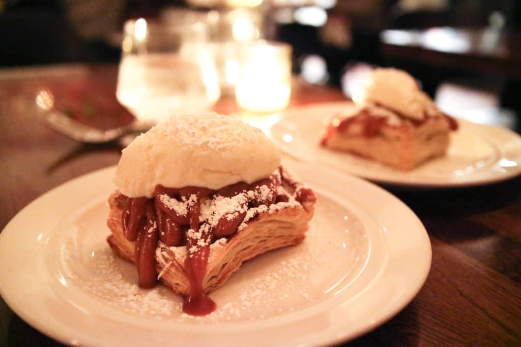 Maple glazed apple tart from Ruby Watchco Toronto