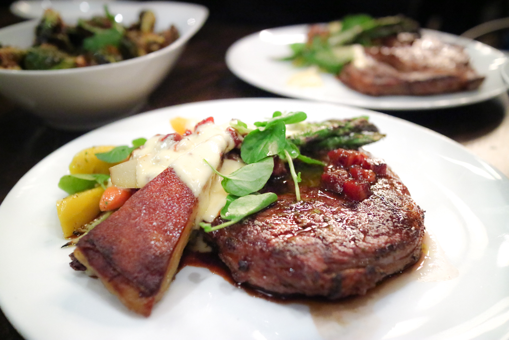 Grilled ribeye from Workshop Kitchen & Culture Calgary
