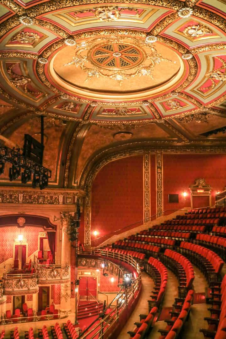 Behind the scenes at elgin winter garden theatre centre - Winter garden theater seating chart ...