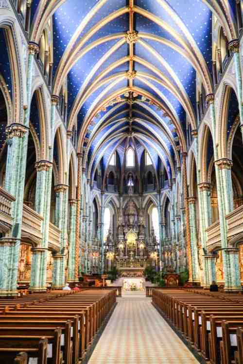 Notre-Dame Cathedral in Ottawa, Ontario