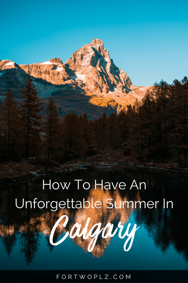 Summer is incredibly fun in Calgary, Canada! Indoor or outdoor, there are plenty of activities to choose from. Click through to find out the best things to do for an unforgettable summer in Calgary. #roadtrip#travelguide#tripplanning#traveltips#itinerary#thingstodo #canadaroadtrip #alberta #calgary#canada #summertravels #cityguide