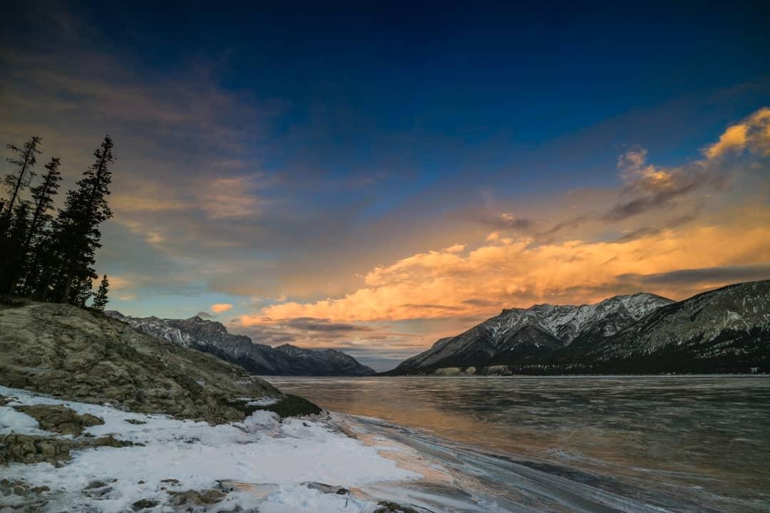 Abraham Lake, Banff, Alberta