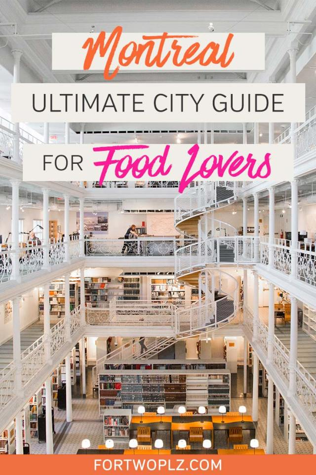 Montreal is one of the most-visited cities in Canada. This French-speaking hipster city is filled with restaurants, bars, coffee shops and attractions for foodies and food lovers alike. Wondering where to eat in Montreal? Check out this travel guide to Montreal for the best attractions to visit and the best places to eat! #canadatravel #explorecanada #foodietravel #travelguide