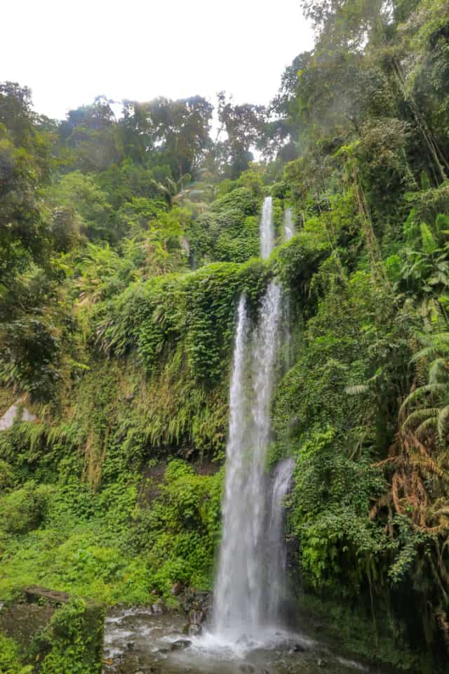 Sendang Gile Waterfalls, Mt. Rinjani, Lombok, Indonesia