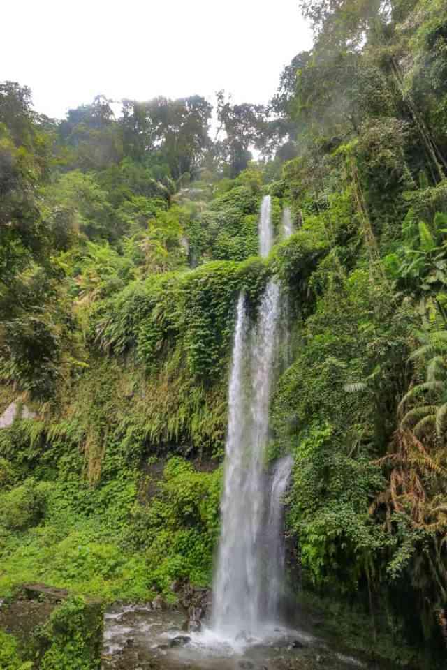 Sendang Gile Waterfalls, Mt. Rinjani, Lombok, Indonesia