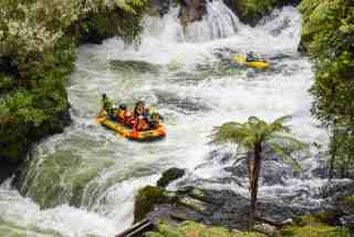 White Water Rafting Rotorua New Zealand