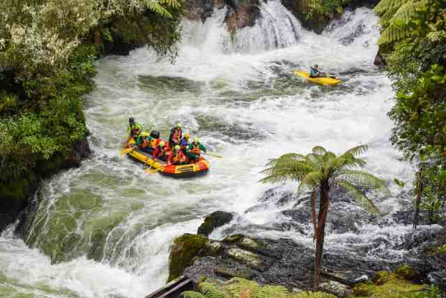 Adventure for adrenaline seekers: White Water Rafting Rotorua New Zealand