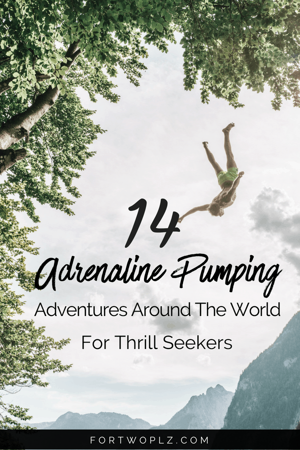 Attention, thrill seekers: Add all these exciting adventure activities around the world to your bucket list. These extreme outdoor activities are guaranteed to give you an adrenaline rush. Click through to read more. #adventure #adventureseeker #thrillseeker #bucketlist #adventuretravel #adrenaline #bungeejump #cntower #zipline #whitewaterrafting #scubadiving #skydiving #jetboat #travelguide #traveltips #thingstodo #traveldestinations #instagramspots #photospots
