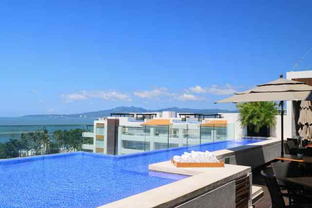 Five star holiday at Neuvo Vallarta all inclusive resort Marival Residences Mexico