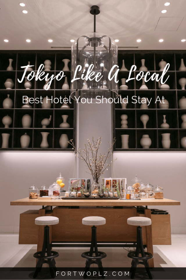 Want to experience Tokyo like a local? Stay at Andaz Tokyo Toranomon Hills. This Tokyo luxury hotel will give you an authentic local experience! #japantravel #bestplacestostay