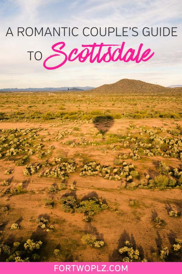 Planning a romantic winter getaway to Scottsdale, Arizona? This travel guide highlights 12 incredibly fun things to do in Scottsdale for couples. From hiking in the Sonoran Desert to wine tasting to golfing to couple's massage, Scottsdale offers plenty of fun. Click through to discover what to see, do and eat in Scottsdale! #explorearizona #scottsdale #travelguide
