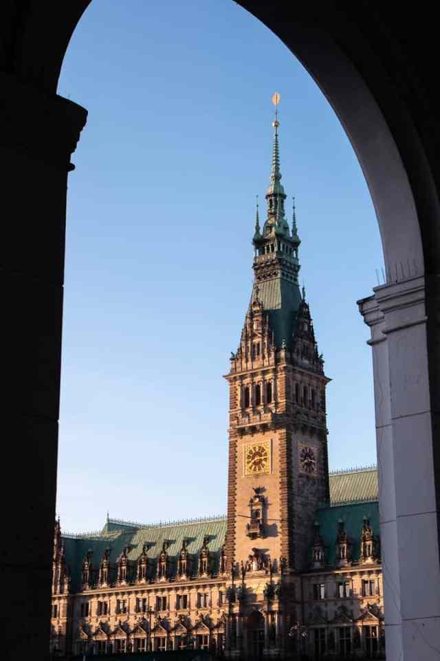 Rathaus Town Hall Hamburg