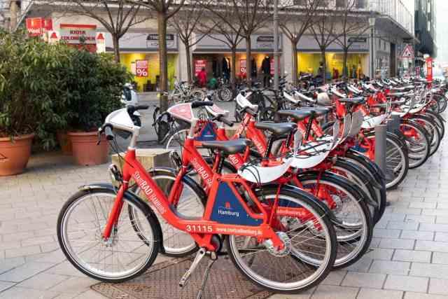 Bikes Hamburg Germany