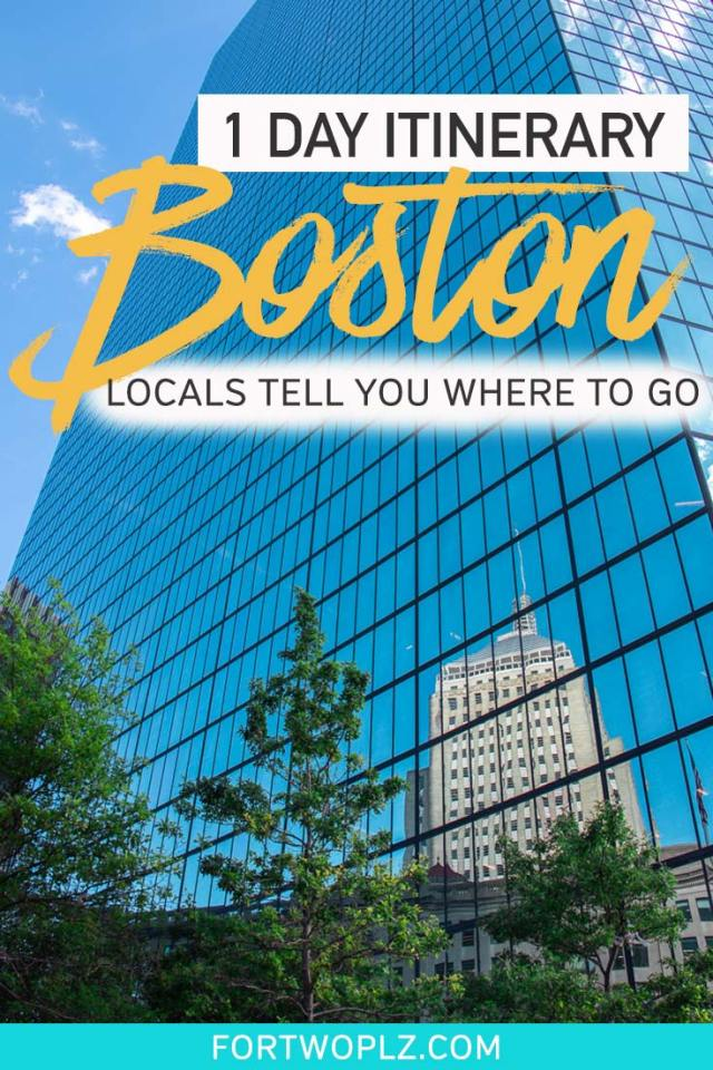 Spending one day in Boston? Let locals show you their secret gems. This Boston itinerary is exactly what you need to plan your trip. Here are Boston best places to visit to get a taste of lobster rolls, cannoli, history, and more! #newengland #usatravel #summertravel #boston