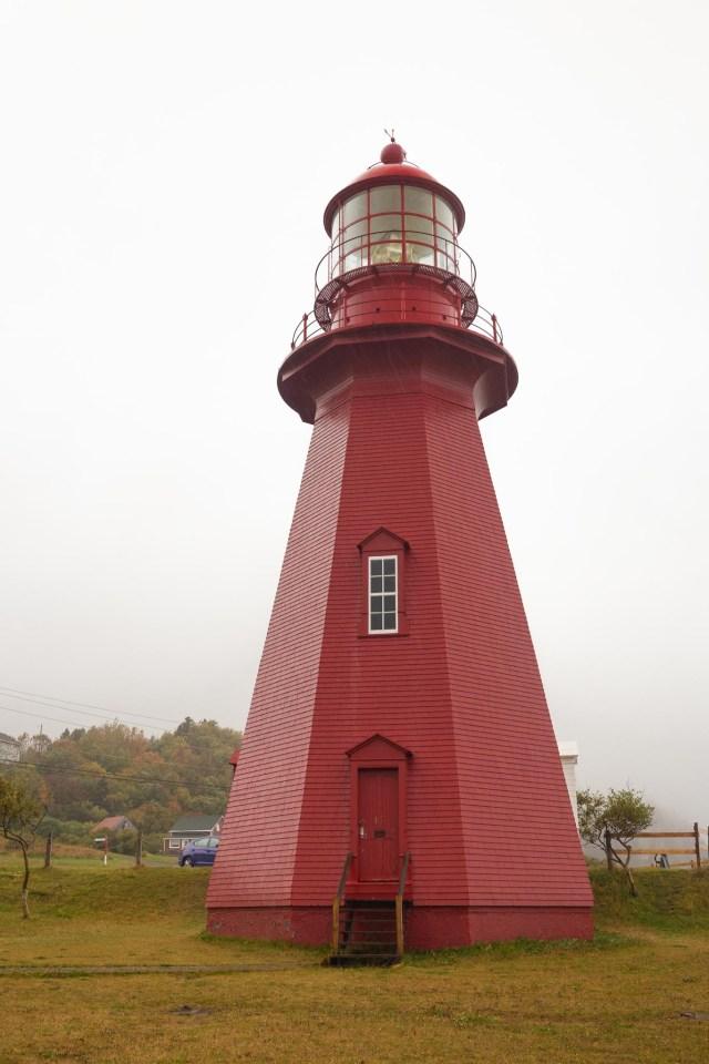 La Martre Lighthouse Gaspe Quebec