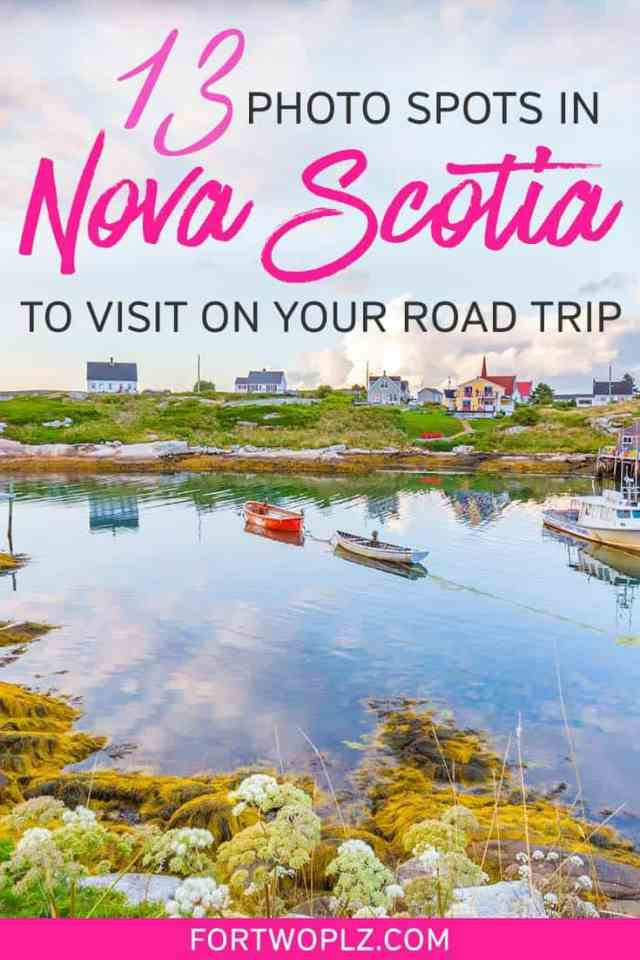 Best Photo Spots in Nova Scotia