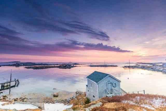 Prospect in Winter Halifax Day Trip