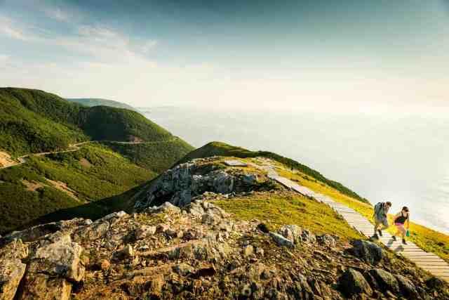 Skyline Trail Cape Breton Highlands National Park Nova Scotia Hiking Trails