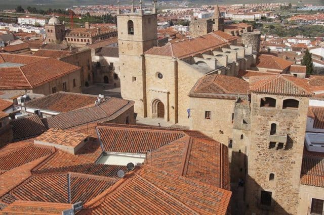 Cáceres Rooftops shows why this is the most beautiful towns in Spain