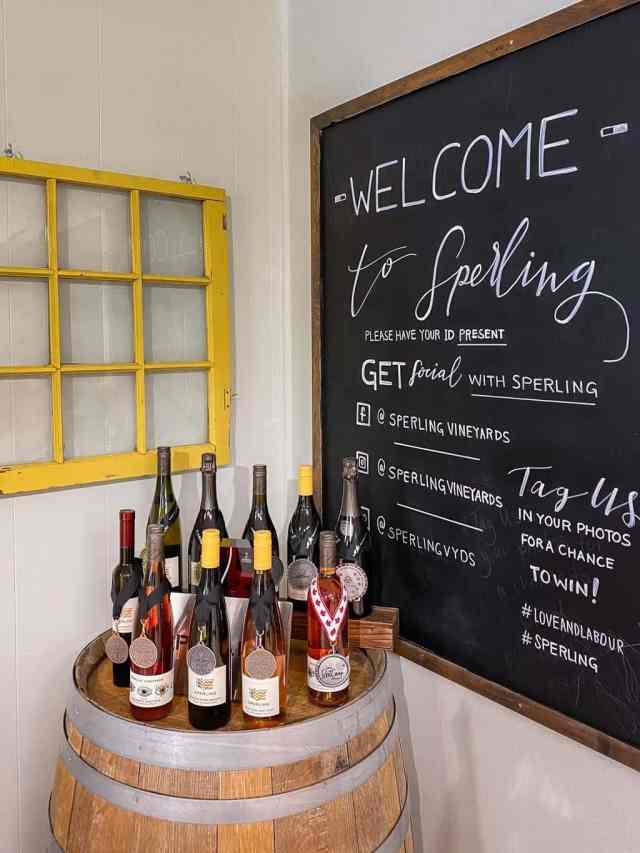 Sperling Vineyards, the oldest Kelowna BC wineries