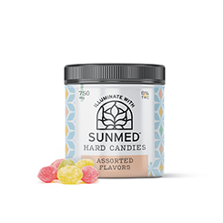 Sunmed CBD Broad Spectrum Hard Candies – 750mg