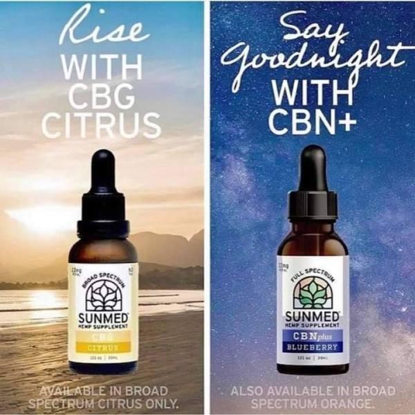 cbg cbn combo blueberry nighttime cbg citrus daytime fort worth