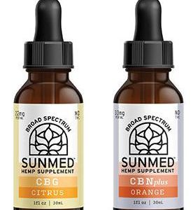 CBG Citrus DayTime / CBN Plus NightTime Combo