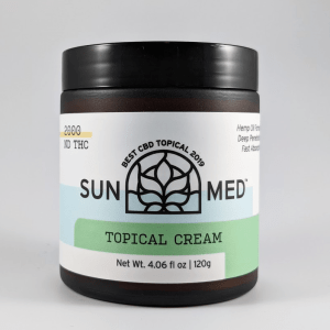 Sunmed CBD Topical Cream with Peppermint 500mg