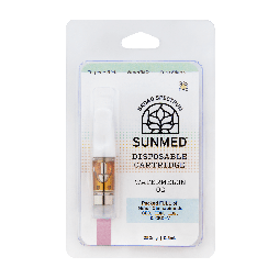 Sunmed CBD Broad Spectrum Vape Cartridges
