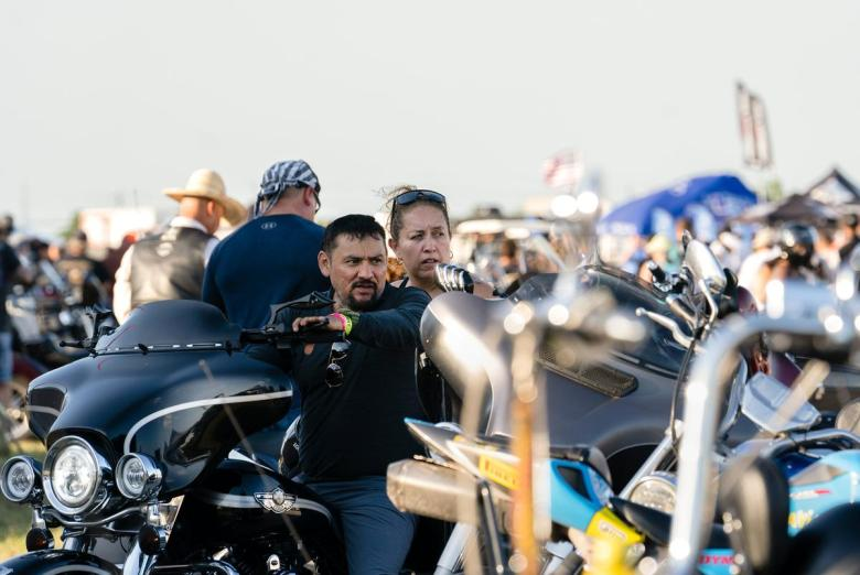 Bike enthusiasts gathered at the Circuit Of The Americas for The Republic of Texas's 25th annual motorcycle rally on June 11, 2021.