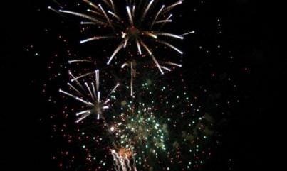 Christmas on Caddo Fireworks Display 2009