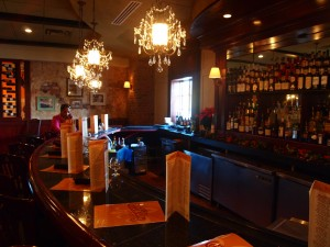 An image of the renovated bar at Copeland's.