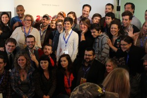 A photo of the filmmakers who competed in the inaugural Louisiana Film Prize